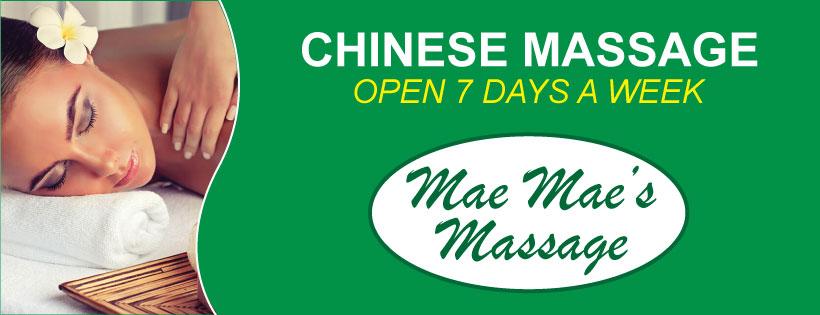 Mae Mae's Massage